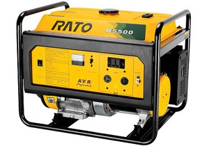 Генератор бензиновый RATO R5500 Гарантия 1 год.
